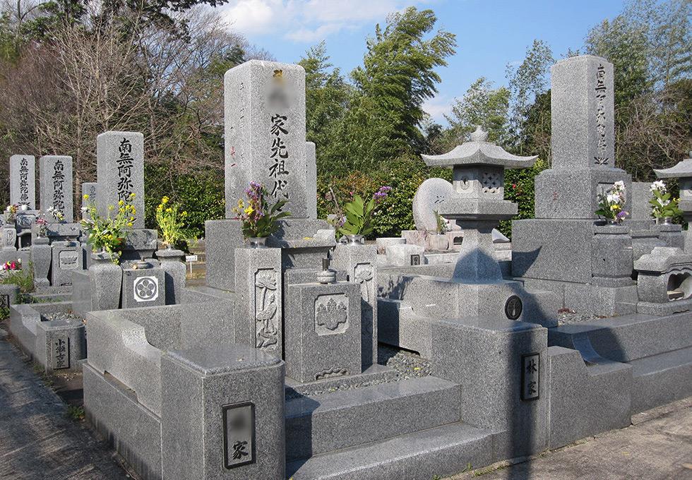 通常墓地区画